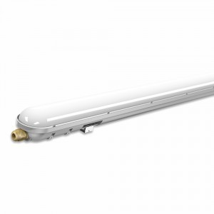 Feuchtraum LED Halterung 150cm incl. 50W LED Leuchtmittel