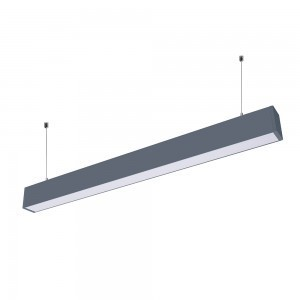 60W LED LINEAR HANGING SUSPENSION LIGHT WITH SAMSUNG CHIP -BLACK BODY